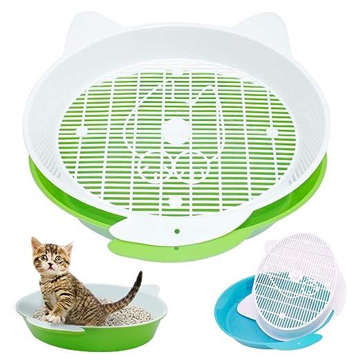 LONG-C Cajas de Arena para Gatos Aseo Gato Arenero Sanitaria ...