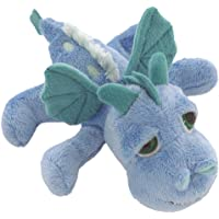 Suki Gifts Little Peepers Dragons Firestorm Dragon Soft Boa Plush Toy (Blue and Turquoise, Small)