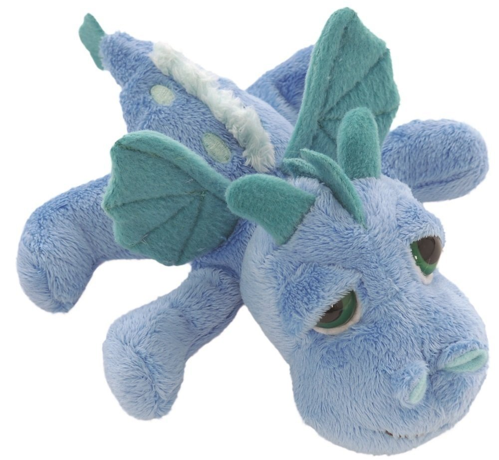 Suki Gifts Little Peepers Dragons Firestorm Dragon Soft Boa Plush Toy (Blue and Turquoise, Small) BabyCenter 14251
