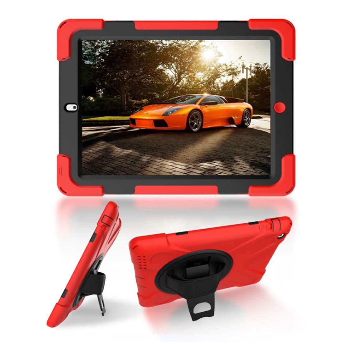 お気にいる KRPENRIO 高耐久 フルボディ B07L8BRZZR 頑丈 フルボディ 保護ケース 内蔵スクリーンプロテクター& iPad 2層デザイン Apple iPad 9.7インチ 2017/2018に対応 (カラー:レッド、サイズ:iPad Air2) B07L8BRZZR, BOULE BEAN:379f2034 --- a0267596.xsph.ru