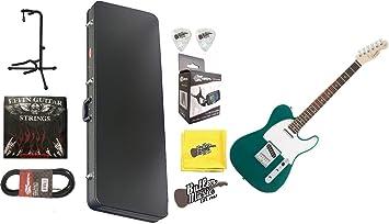 Fender Squier afinidad Carrera verde Telecaster guitarra ...