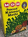 Peacock Kasoori Methi (Dried Fenugreek Leaves) 2.2 lbs (1 Kg)