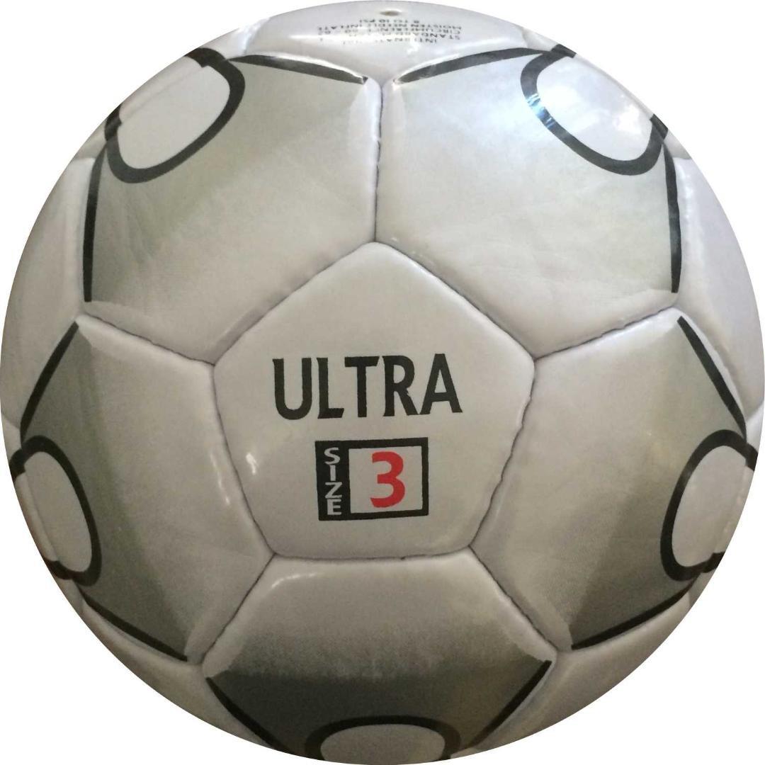 Perrini Ultraインドアアウトドアスポーツブラックホワイトサッカーボールサイズ3 B076LVZ99T