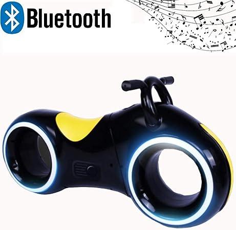 Pn&cc Motocicleta de música para niños, Motocicleta para niños con Altavoz Bluetooth Equilibrio Bicicleta Motocicleta Juguete Niño Niña Caminante,Negro: Amazon.es: Hogar