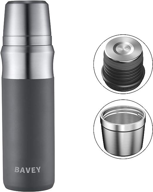 Amazon.com: Bavey - Taza de café con termo de agua de doble ...