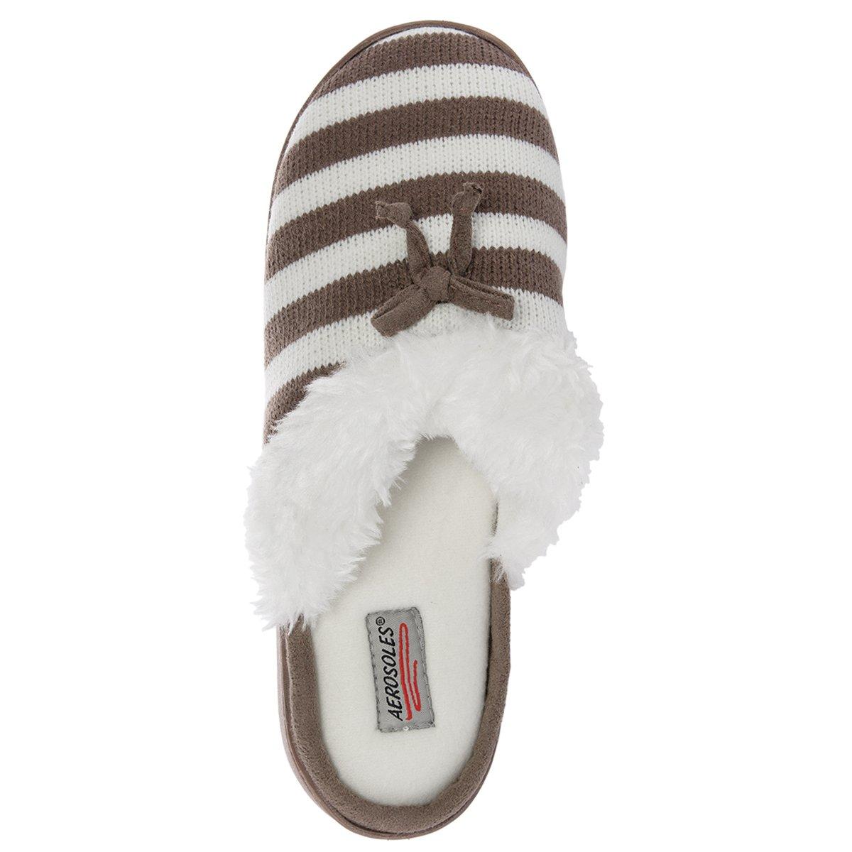4dd4ac73e40 Amazon.com  Aerosoles Comfy Cushioned House Slippers For Women
