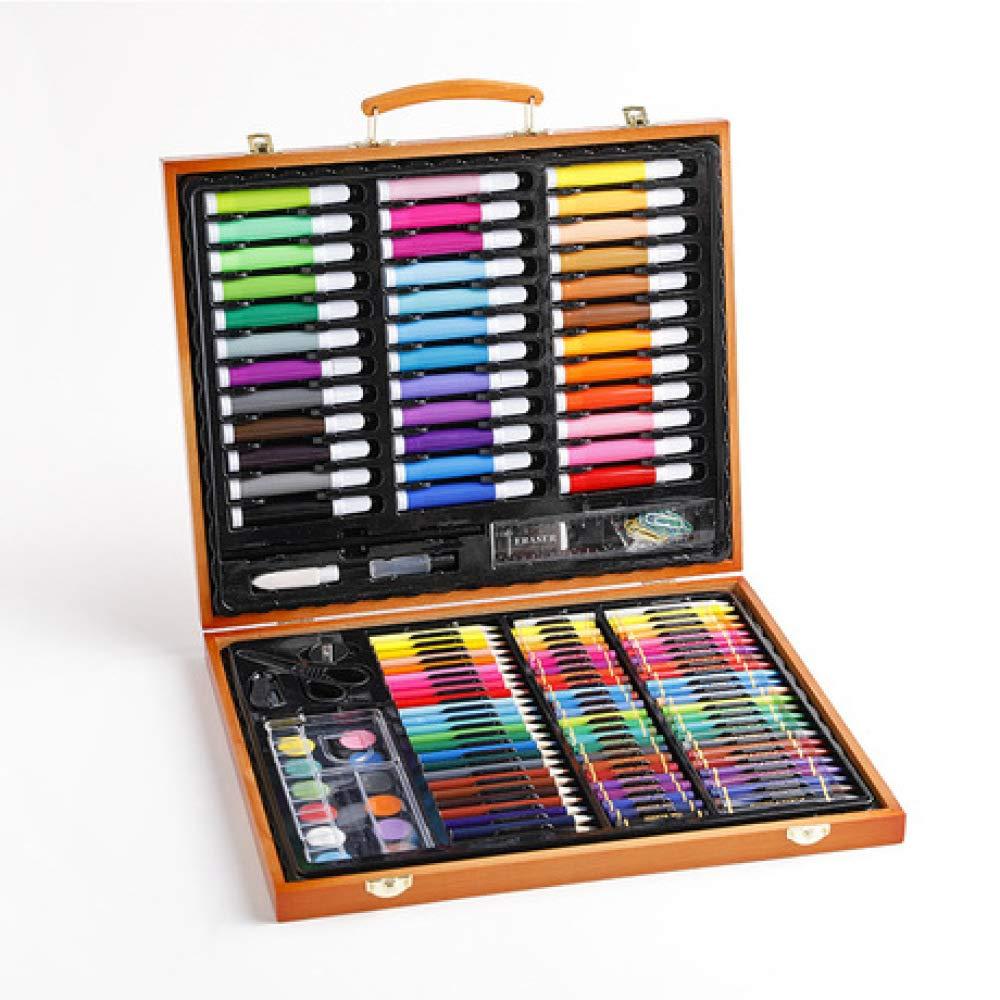 Art JKWL Set di Pittura per Bambini 150 Pezzi di Pittura Insieme di Arte, i Bambini Penna Acquerello Set di Strumenti di Pittura Arte apprendimento cancelleria Bambini pastelli Set
