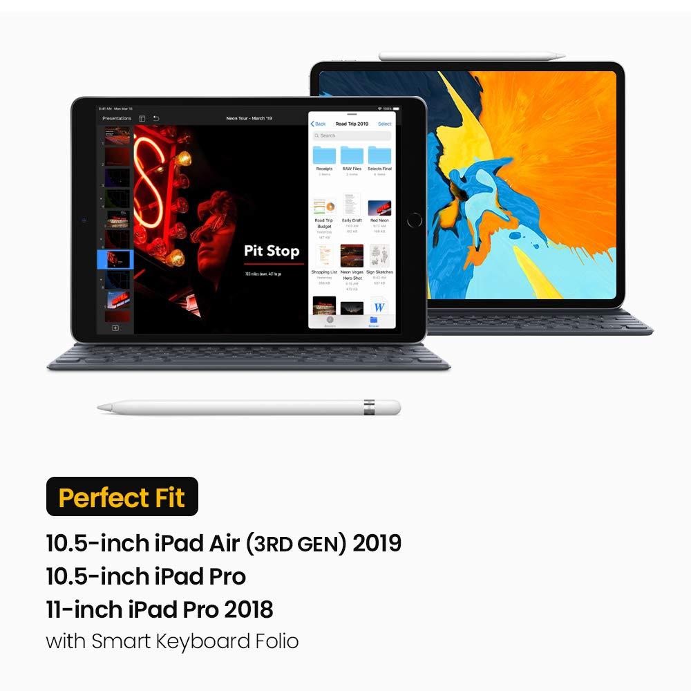 3e g/én/ération tomtoc Sac /à Bandouli/ère pour Tablette Compatible avec Nouvel iPad Pro 12,9 2018 iPad Air 10,5 Poche Organis/ée pour C/âble de Chargement Housse pour iPad Pro 11 iPad Mini 7,9