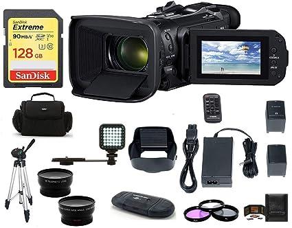 Amazon.com: Canon VIXIA HF G60 UHD 4K videocámara PRO Bundle ...