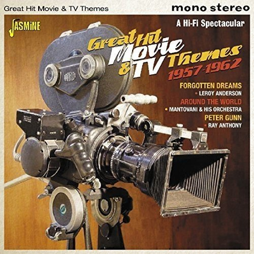 Great Hit Movie & TV Themes 1957-1962 [ORIGINAL RECORDINGS (Movie Hits Cd)