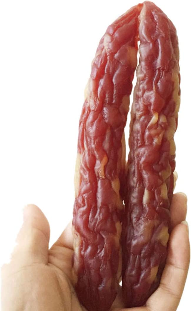 XINFU Restaurant Simulated Food Sausage Meat Decoration Model Prop Fake Sausage Home Decor