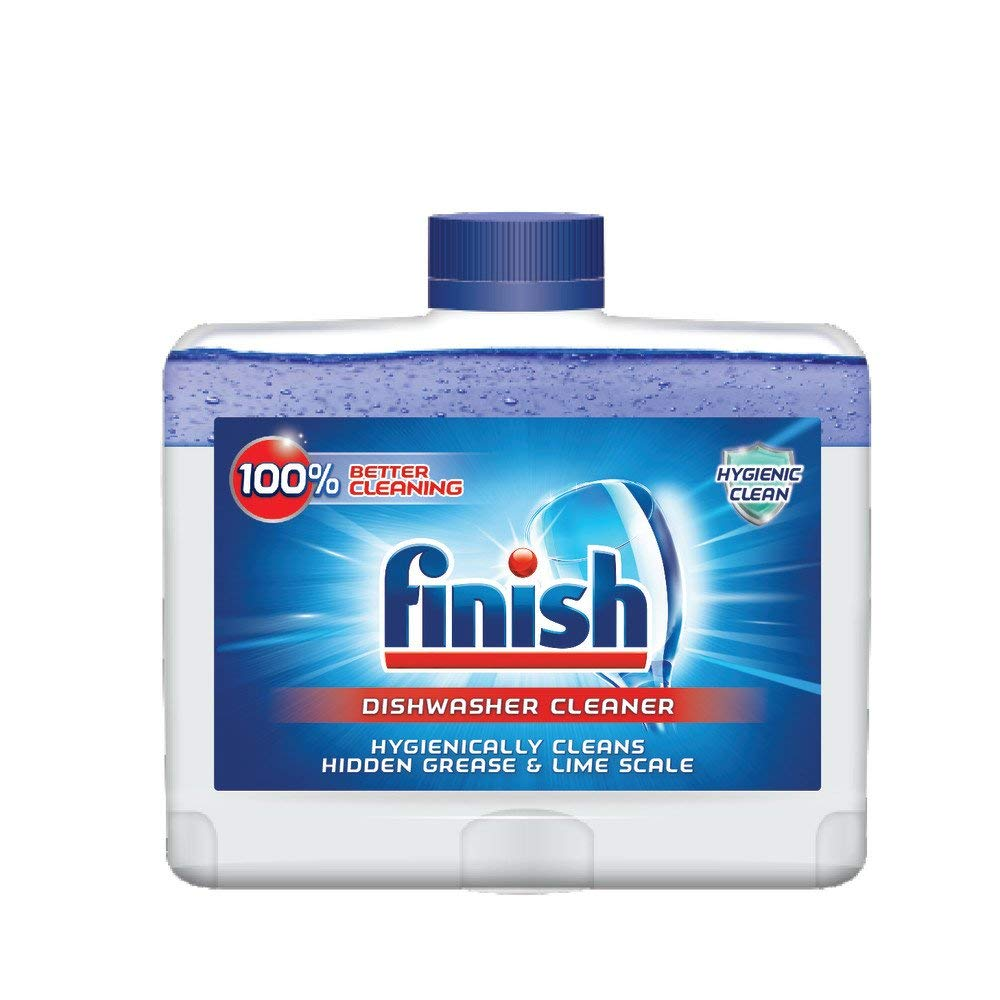 Finish Dual Action Dishwasher Cleaner: Fight Grease & Limescale, Fresh, 8.45oz (2 Pack(8.45 Oz))