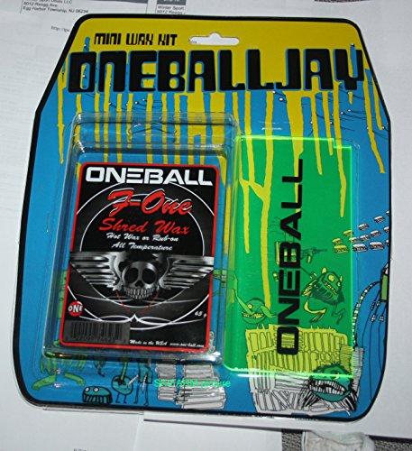 ONEBALL MINI WAX KIT F 1 All Temp Wax, ski snowboard Plastic Scraper 2015 One ball kit NEW