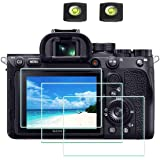 A7RIV Screen Protector Appliable for Sony Alpha A7R IV Digital Camera & Hot Shoe Cover,ULBTER 0.3mm 9H Hardness A7R4…