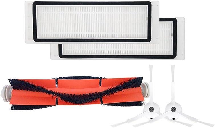 Toogoo - Cepillo principal + 2 filtros HEPA® + 2 cepillos laterales para aspiradora Xiaomi Mi Robot: Amazon.es: Hogar