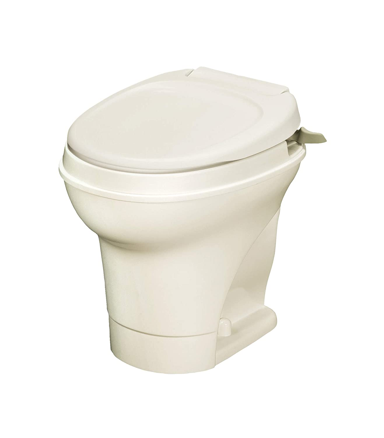 Thetford 31668 Aqua-Magic V RV Toilet, High Profile - Hand Flush - parchment TFORR