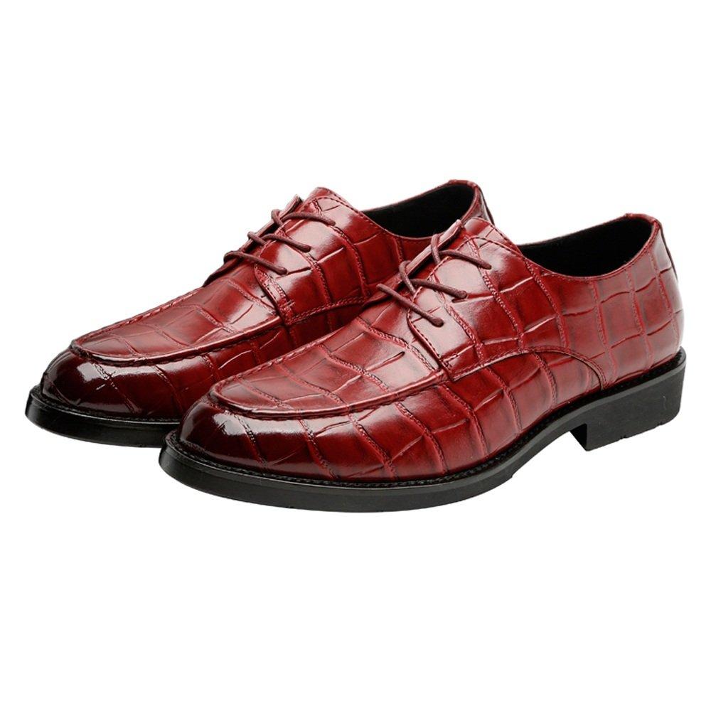 Xujw-schuhe, 2018 Schuhe herren, Männer PU Leder Schuhe Platz Platz Platz Textur oberen Lace Up Breathable Business Niedrig Top ausgekleidet Oxfords (Loafer Optional) (Farbe : Loafer BLK, Größe : 45 EU) Loafer Wie 95ba38