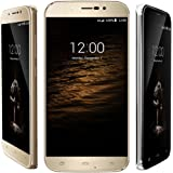 "UMI ROME X Unlocked Smart Phone 5.5"" Android 5.1MT6580 Quad Core 1G RAM 8G ROM Mobile Phone (Gold)"