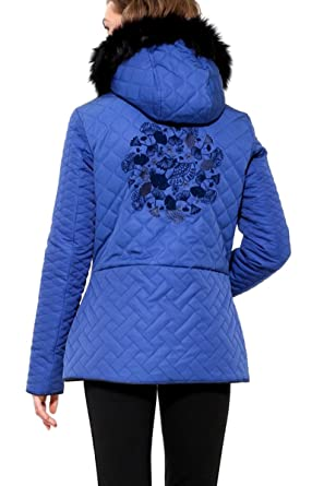 17wwewj6 et Royal Vêtements Bleu Desigual Doudoune Fran x8tY8PO