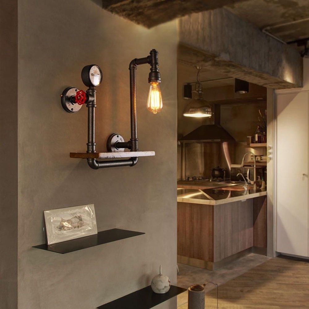 LOFT Wanddekoration Regal Nordic Retro Industrial Antique Regal Iron ...