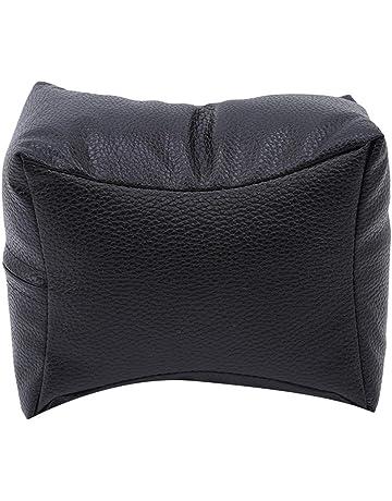 XdremYU - Cojín profesional para manicura (piel sintética), color negro