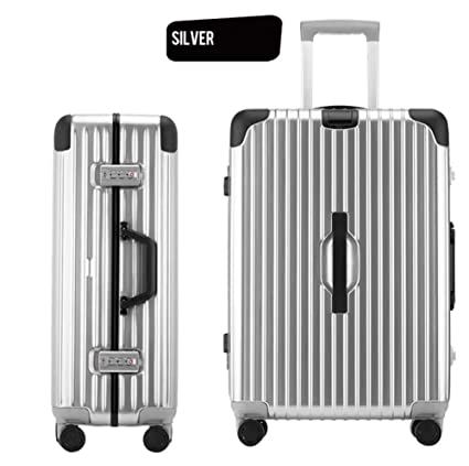 a5e600999 AQWWHY Carry On Hand Luggage Polycarbonate Hard Shell Suitcase Travel  Trolley Cases Bags Hold Check in