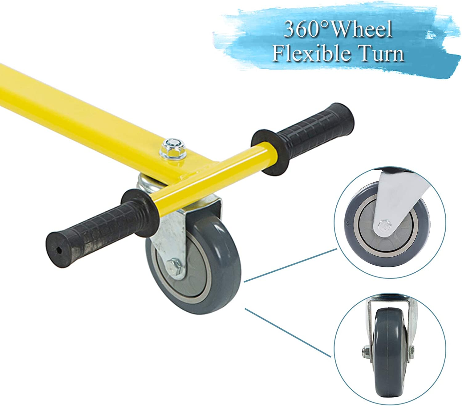 SMAGREHO Hoverboard Kart Seat Attachment Accessory for 6.5 8 10inch Two Wheel Balancing Scooter Suitable for Kids /& Adults