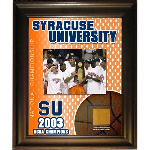 Syracuse University 2003 NCAA Champions 11x14 Framed Court Collage by Biggsports