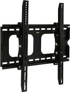 Mount-It! Tilt TV Wall Mount Bracket for 37 Inch TVs, Tilting Mount for Samsung, Sony, Vizio, LG, Panasonic, LCD, LED Flat Screen 24, 27, 30, 32, 37 Inch, VESA 400x200, VESA 200x200 Compatible