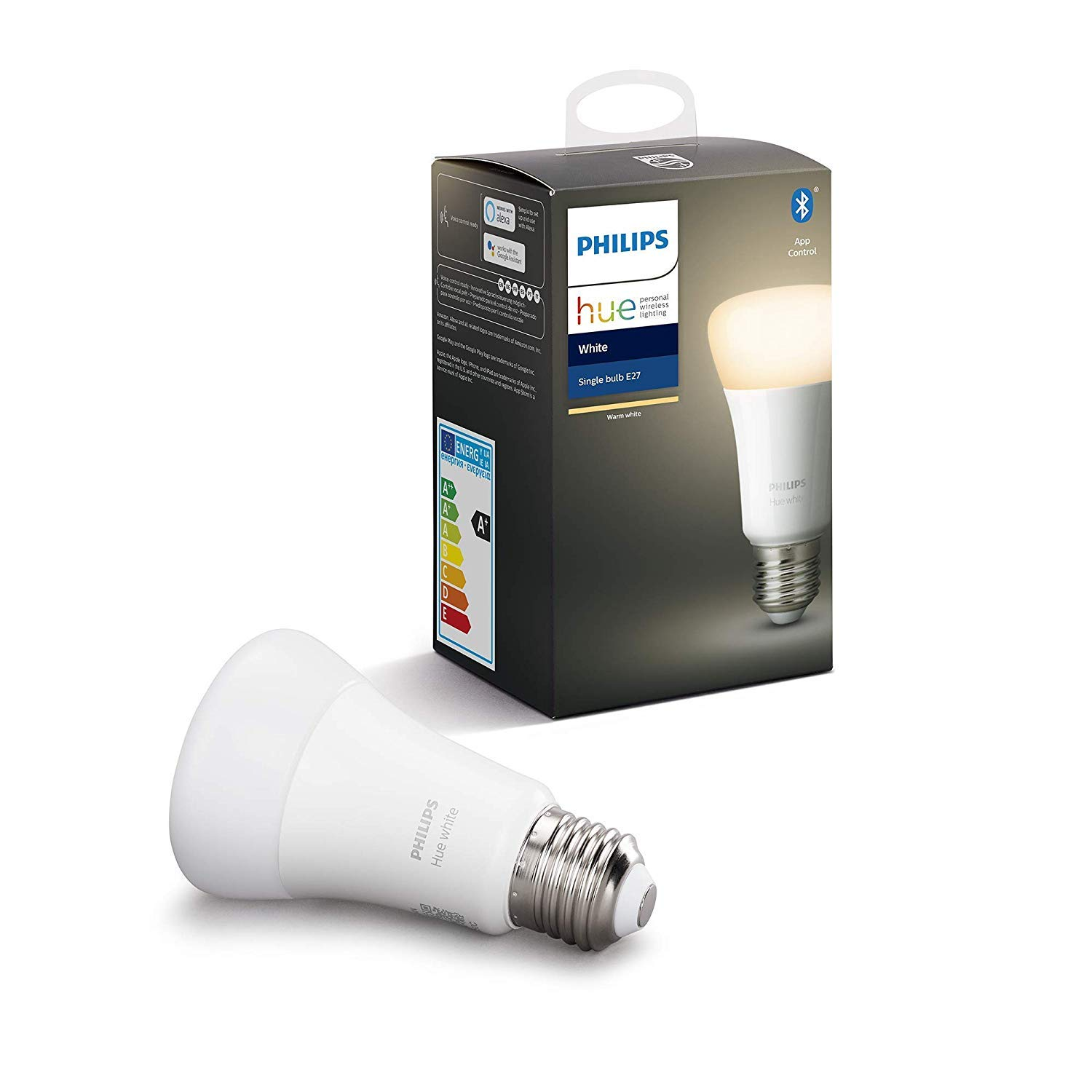 Philips Lighting Hue White Lampadina LED Connessa,