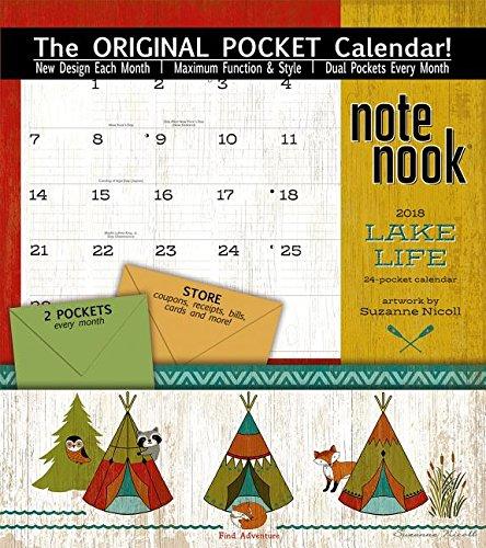 Download Lake Life 2018 Note Nook: 24 Pockets PDF