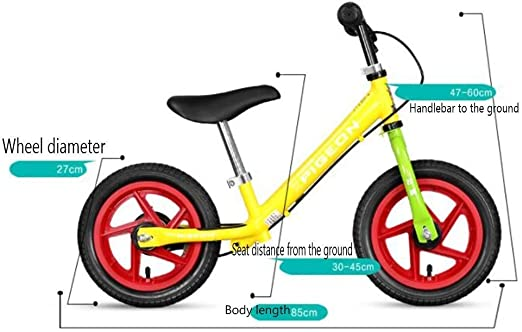 Bicicletas sin pedales Sliding Car Lightweight Child Balance Car ...
