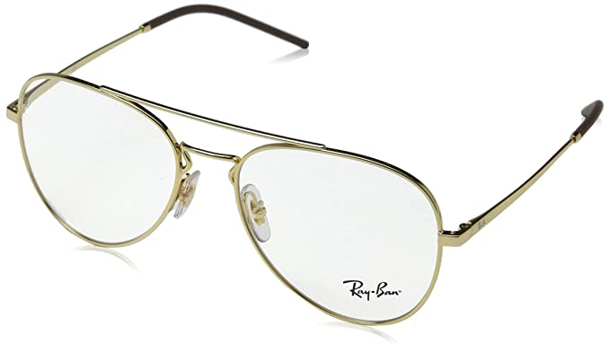 cd689c3e3e Amazon.com  Ray-Ban 0rx6413 No Polarization Aviator Prescription ...
