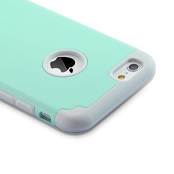 60c5bb4f66d Funda iPhone 6S y Funda iPhone 6 (4.7 pulgadas),2 en 1 compuesta ...