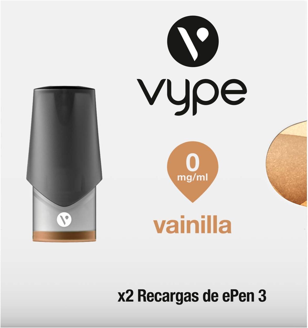 VYPE Recargas de Vainilla x2 para cigarrillo electrónico