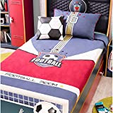 Cilek Kids Room Soccer Collection, Team Bed Cover