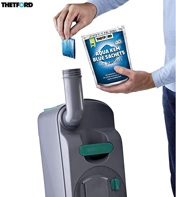 Desconocido Thetford Pastillas Aqua KEM Blue Sachets WC ...