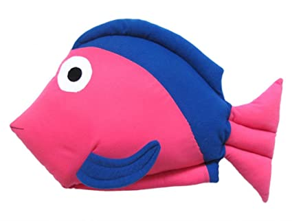 Tickles Stuffed Soft Fish Cushion Toy Pillow Car 42 cm
