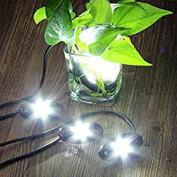 Rock Lights, Off road Lights with 4 Pods CREE LED and Extended wire ( 87\
