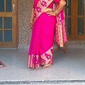 Craftsvilla Synthetic Saree With Blouse Piece Mavan57879420490 Dark