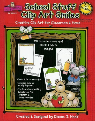 Carson Clipart Dellosa - School Stuff Clip Art Smiles with CD-Rom (D.J. Inkers)