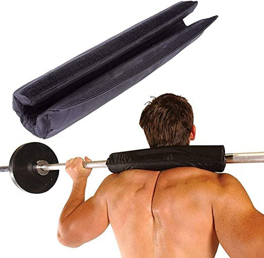 NEW Barbell Pad Supports Squat Bar Weight Lifting Pull Up Neck Shoulder Protect