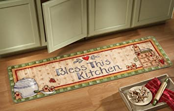Gingerbread Kitchen Runner Rug