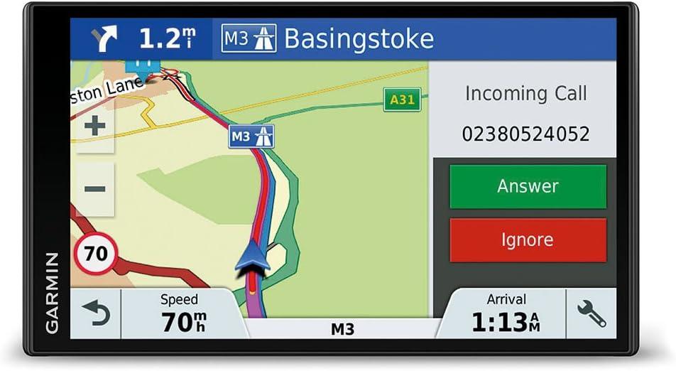 Garmin DriveSmart 61 Western EU LMT-S - Navegador GPS con mapas de por Vida y tráfico vía móvil (Pantalla de 6