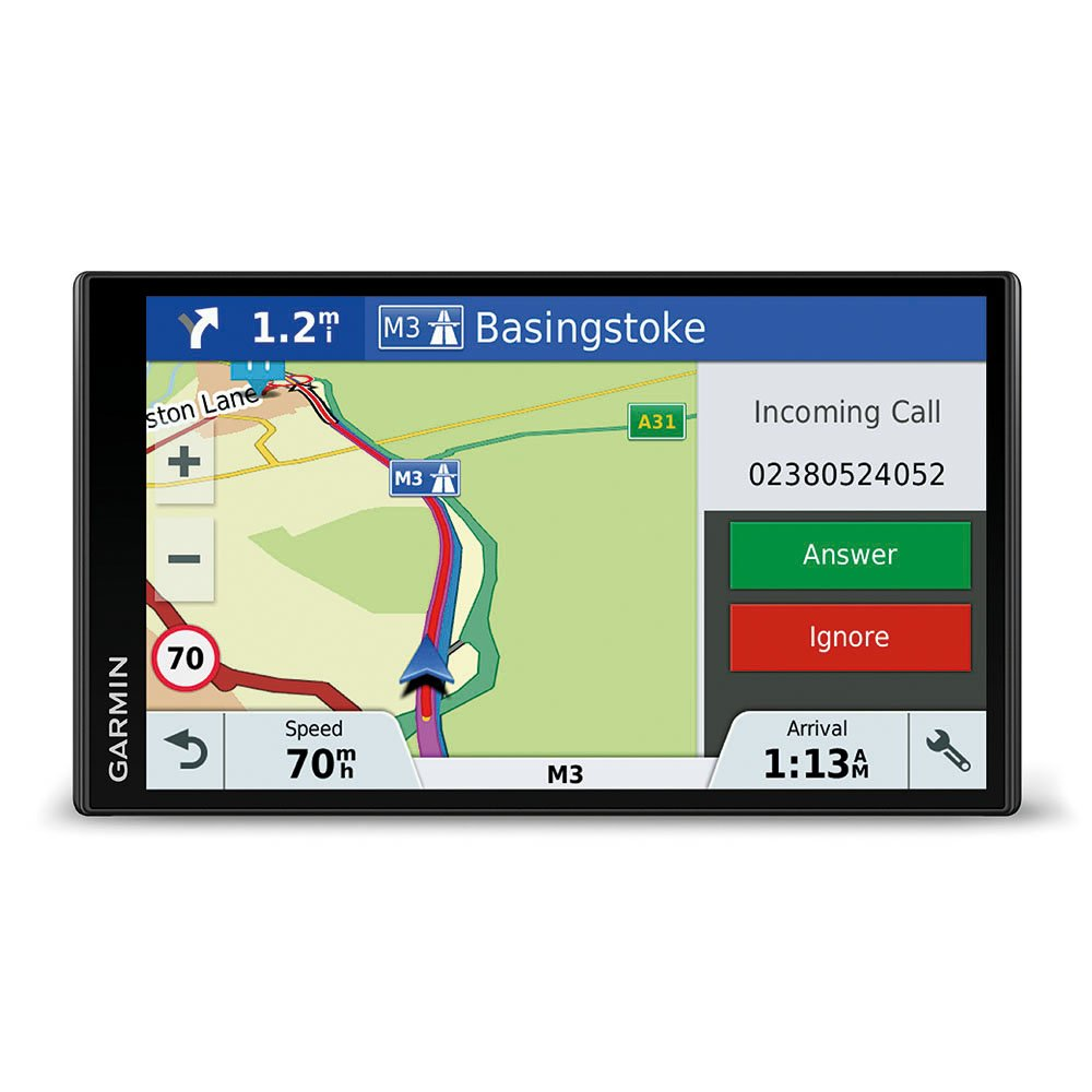 Garmin 010-01680-13 DriveSmart 51LMT-D 5-inch Sat Nav with Lifetime Map Updates for UK, Ireland and Full Europe, Digital Traffic and Built-in Wi-Fi - black