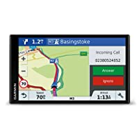 Garmin DriveSmart 61 LMT-D EU Navigationsgerät  (17,65 cm (6,95 Zoll) rahmenloses Touchdisplay, Europa (Traffic via DAB+ oder Smartphone Link)  lebenslang Kartenupdates & Verkehrsinfos, Smart Notifications)