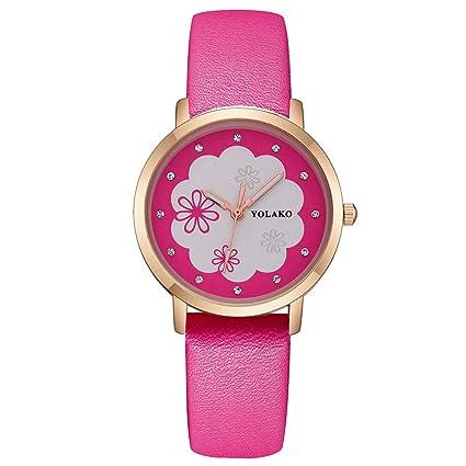 Zolimx Relojes Pulseras Mujer Acero Inoxidable, Mujer Elegante de Regalos Originales para Mujer
