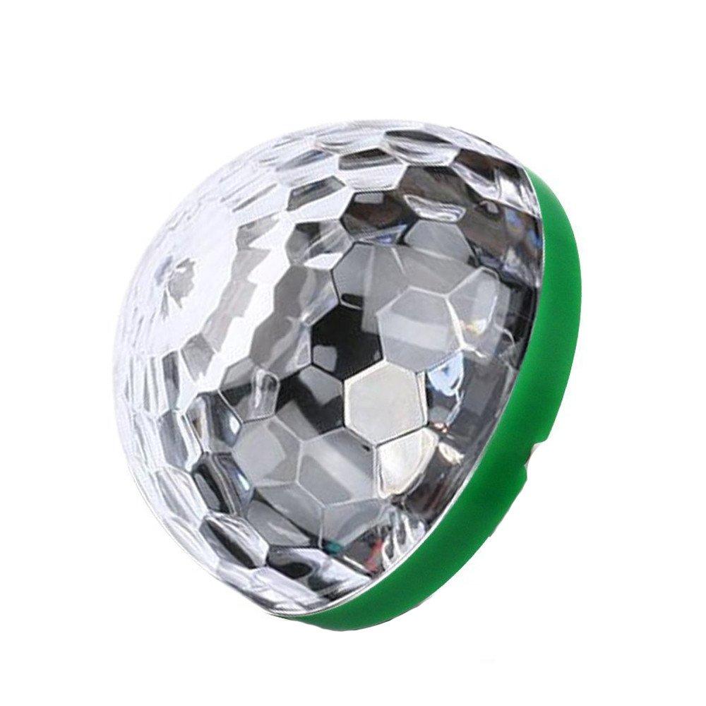 ️ Yu2d ❤️❤️ ️Mini Type-C Disco Light Portable Home Party Light DC 5V Type-C Disco Ball