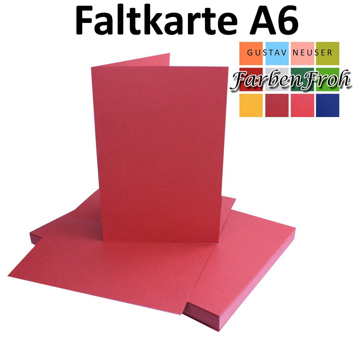 250x Falt-Karten DIN A6 A6 A6 Blanko Doppel-Karten in Hochweiß Kristallweiß -10,5 x 14,8 cm   Premium Qualität   FarbenFroh® B078W64XQ7 Kartenkartons Bekannt für seine schöne Qualität a38539