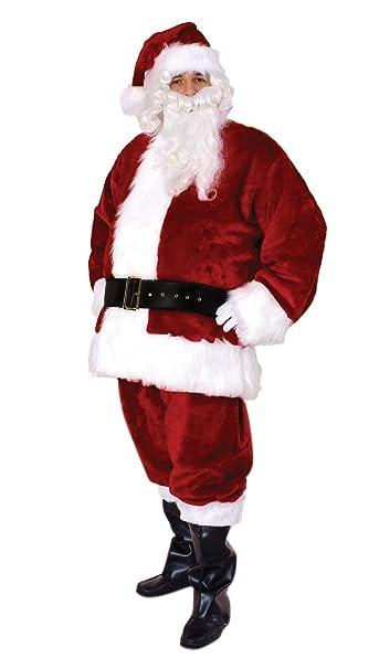 Amazon.com: Sunnywood Hombres Premium de Papá Noel traje ...